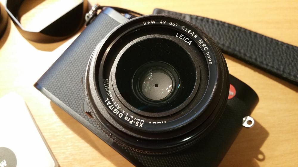 Eddycam Sling-1 an Leica Q