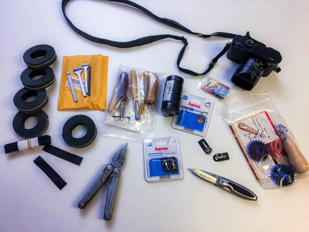 """Nennen wir es einen """"Projektauftakt"""" – Der eigene Fotofuzzy-Kameragurt"""