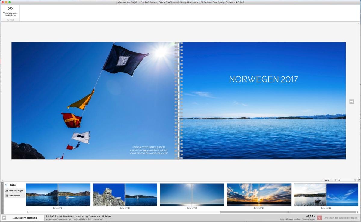 Das Fotoheft in Groß – mal näher angesehen – Digitaler-Augenblick.de