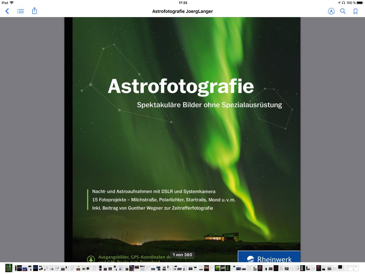 Wenn die Nacht zum Tag wird – Das Buch zur Astrofotografie