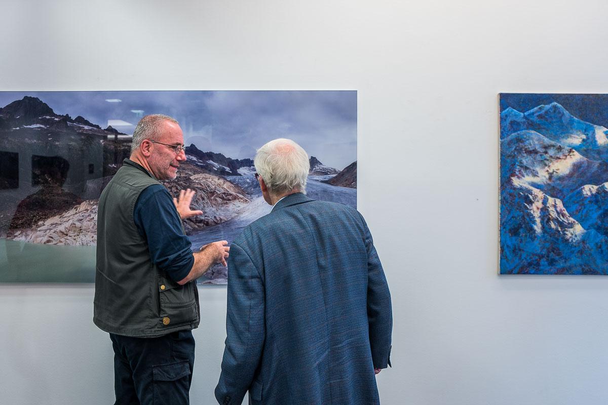 Bilder hört man noch besser als man sie sieht – Ausstellung Silentium – Thomas Bredenfeld