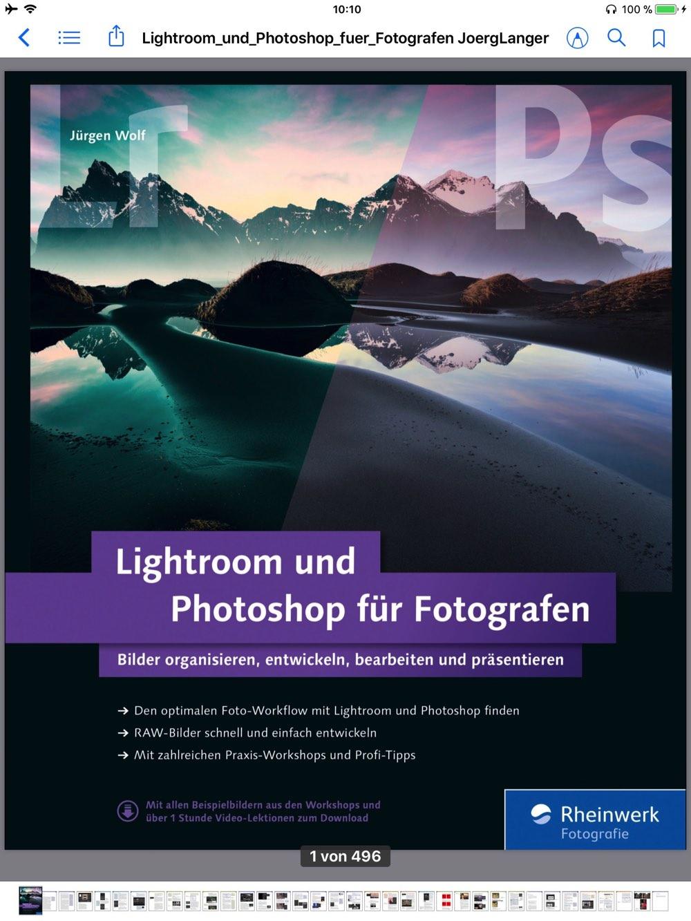 Lightroom und Photoshop für Fotografen – ein Buch über das Zusammenspiel der beiden Programme