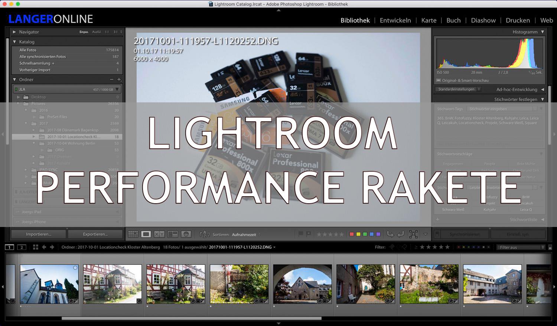 Wie ein Unterstrich die Performance in Lightroom um 500% steigert – mein LR Workflow