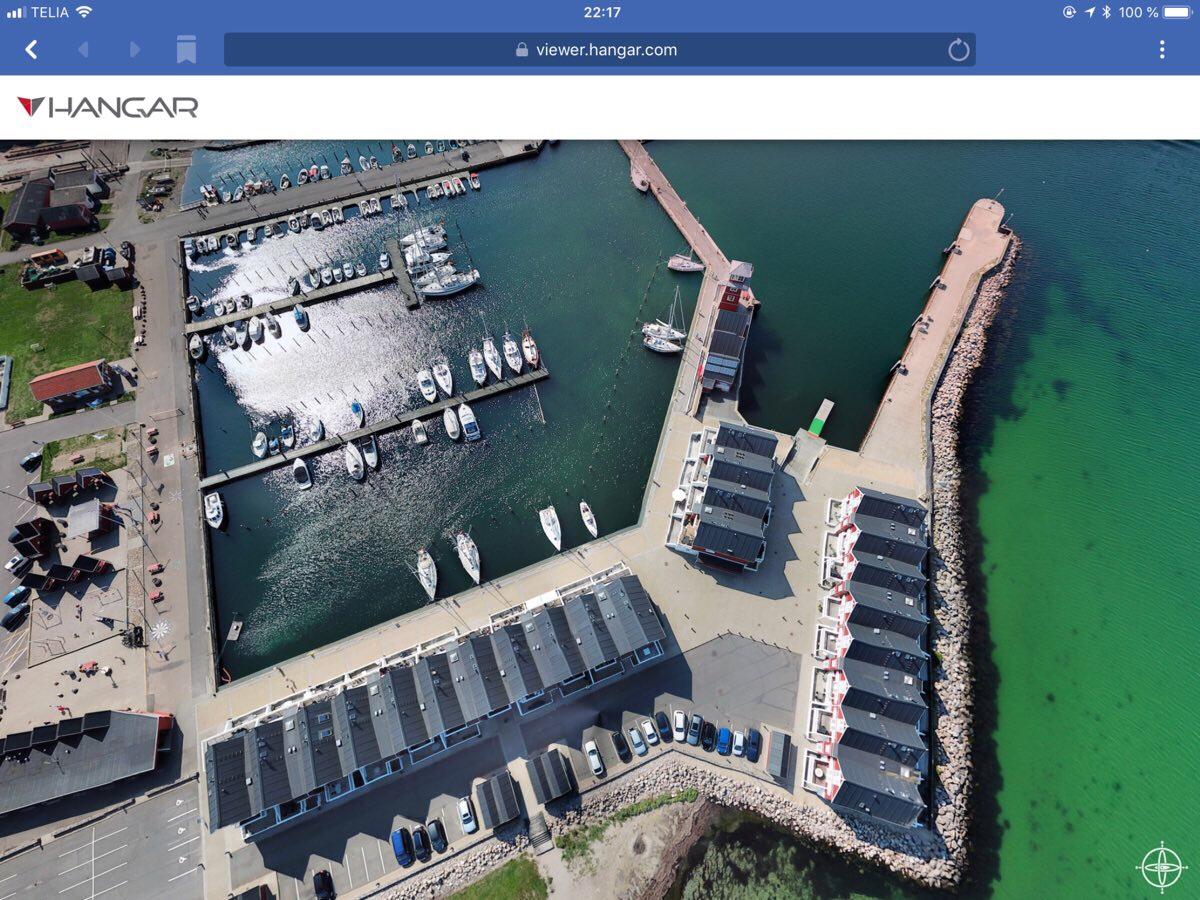 360 Grad Panorama über Bagenkop Havn - Hangar360